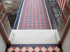 Victorian pathway -York stone -Ealing W13-3