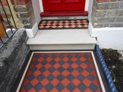 Victorian pathway -York stone -Ealing W13