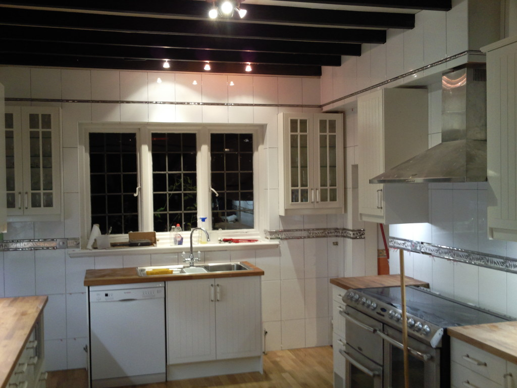 kitchen tiled in Rickmansworth