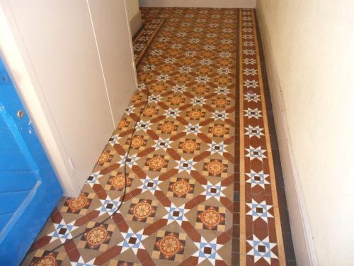 Tile Cleaning Victorian Floor Tile Restoration Hertfordshire